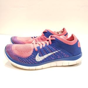 Nike WMNS 4.0 Flyknit Running Shoes Pink Flash 63